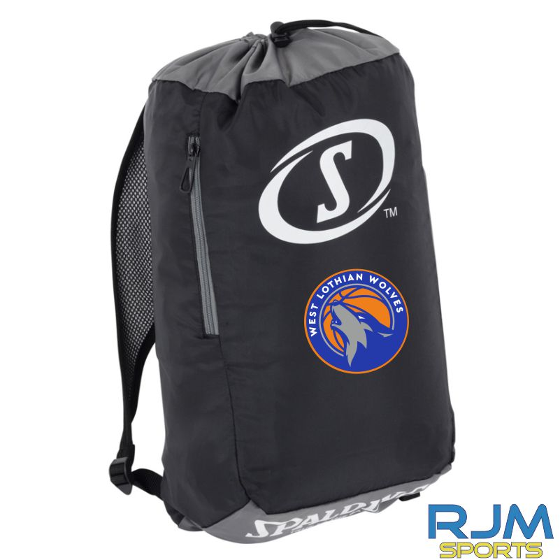 WLW Sackpack Black Anthracite White