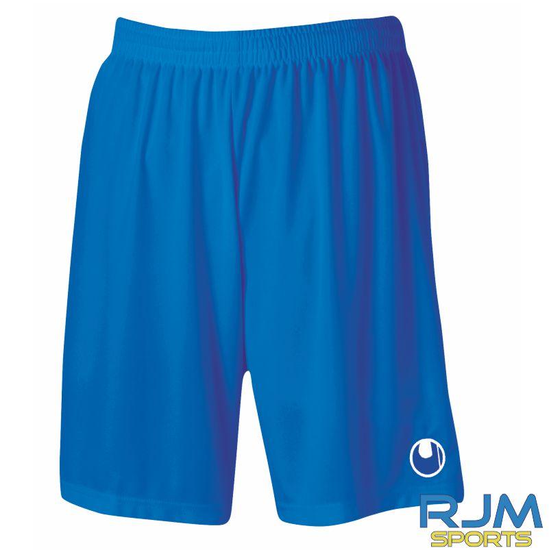 Soccer Stars Academy Uhlsport Centre Basic II Shorts Without Inner Slip Azure Blue