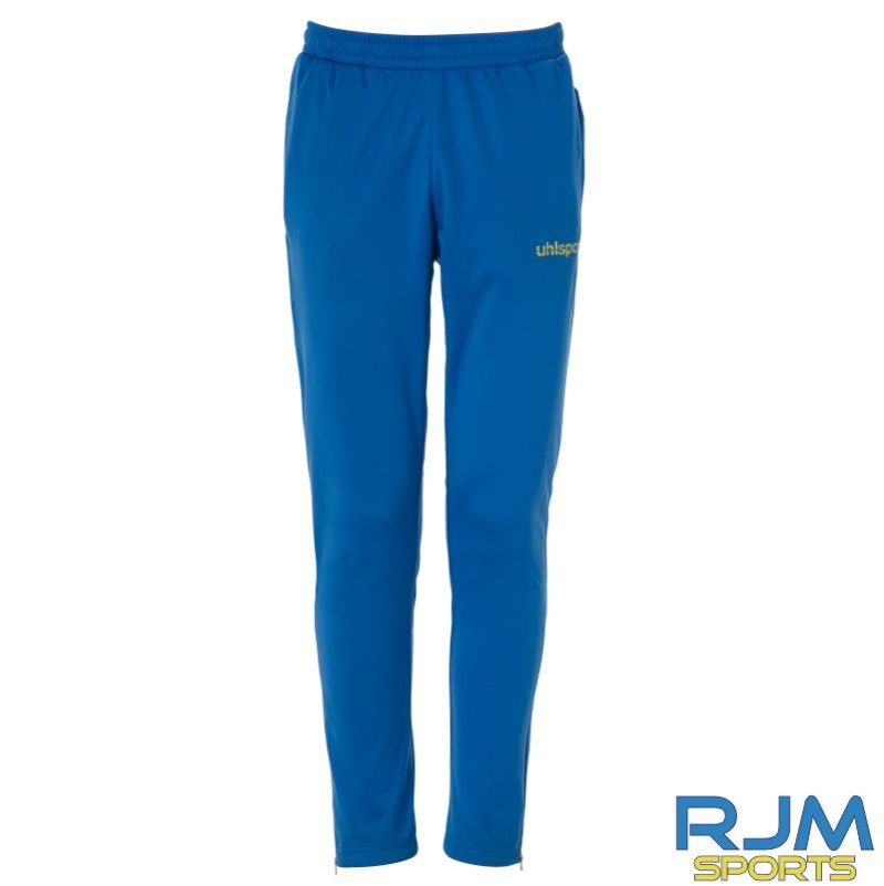 Soccer Super Stars Tracksuit Azure Blue Lime Yellow Tracksuit Trousers