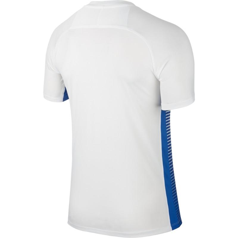 e085d313ce7 Nike Precision IV Jersey Short Sleeve Mens White Royal Blue (Black)