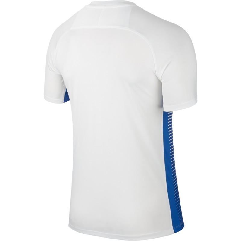 f3c764487 Nike Precision IV Jersey Short Sleeve Mens White/Royal Blue/(Black)