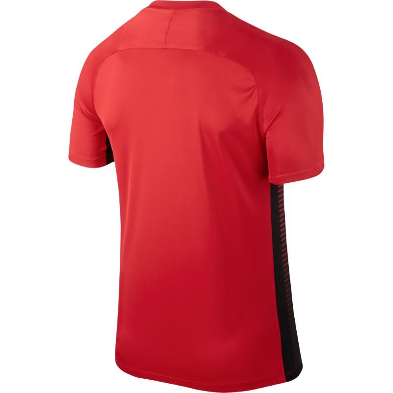 97dcb1b1994 Nike Precision IV Jersey Short Sleeve Mens University Red Black (White)