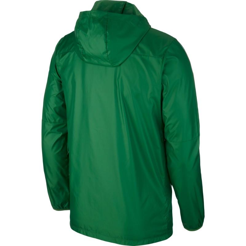 be47b31aebd8 Nike Park 18 Rain Jacket Pine Green White (White)