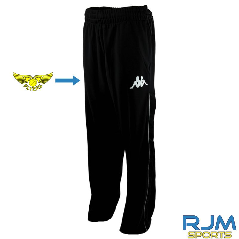 GF Kappa Basi Jogging Bottoms Black