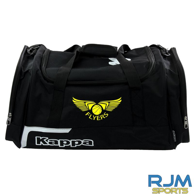 GF Kappa Borza Sports Bag Various Sizes Black
