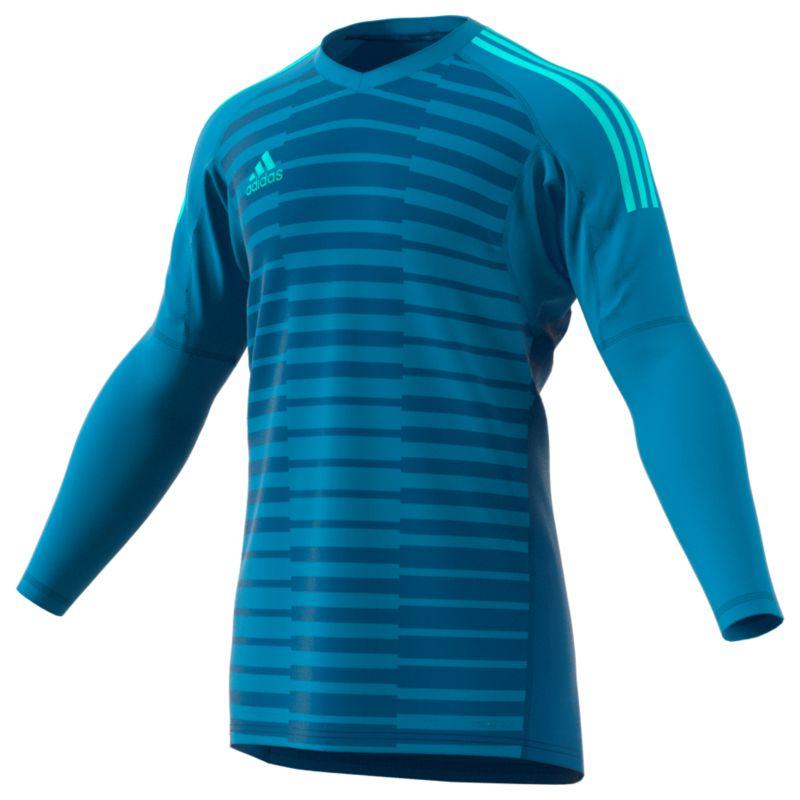 Adidas Goalkeeper Jersey – Adipro 18 GK Bold Aqua Unity Blue Energy Aqua 1aee9c66e
