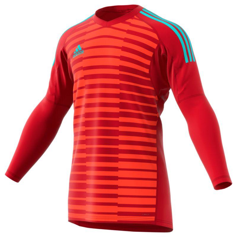 Adidas Goalkeeper Jersey – Adipro 18 GK Power Red Semi Solar Red Energy Aqua de72c6e65
