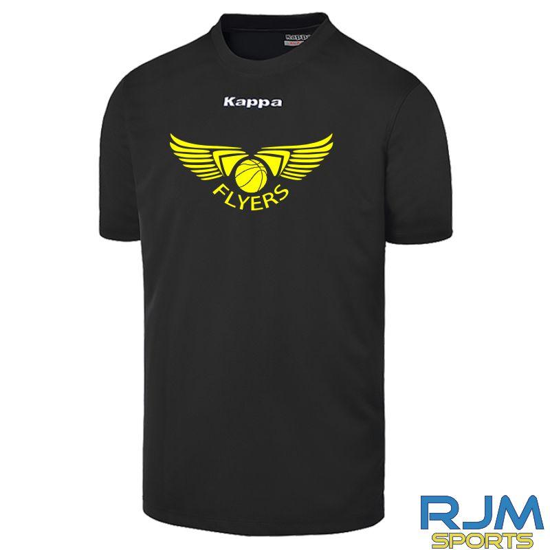 GF Kappa Carrara Polyester T-Shirt Black