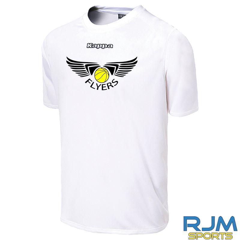 GF Kappa Carrara Polyester T-Shirt White
