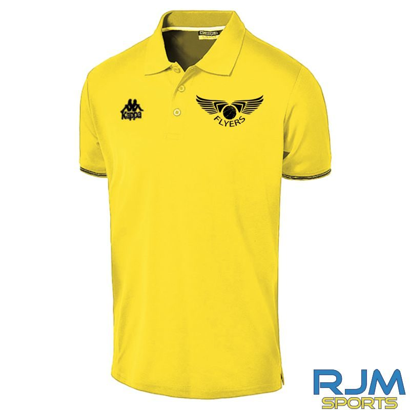 GF Kappa Corato Coaches Polo Shirt Yellow