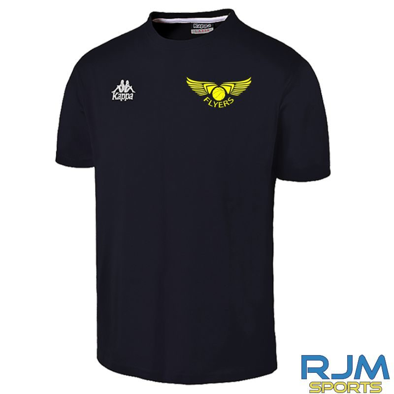 Grampian Flyers Cotton T-Shirt Black