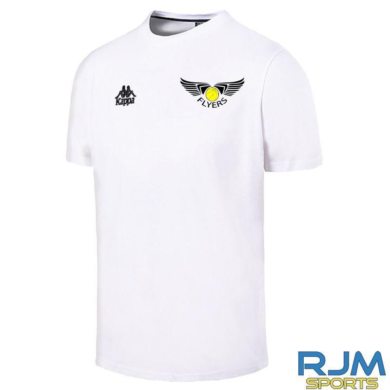 GF Kappa Lucera Cotton T-Shirt White