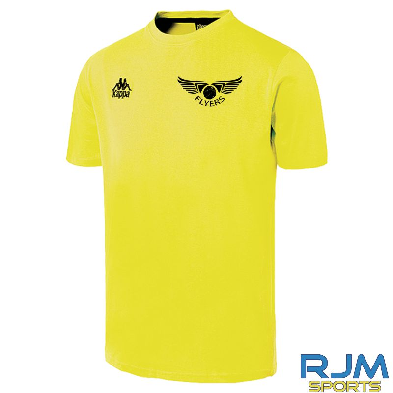 GF Kappa Lucera Cotton T-Shirt Yellow