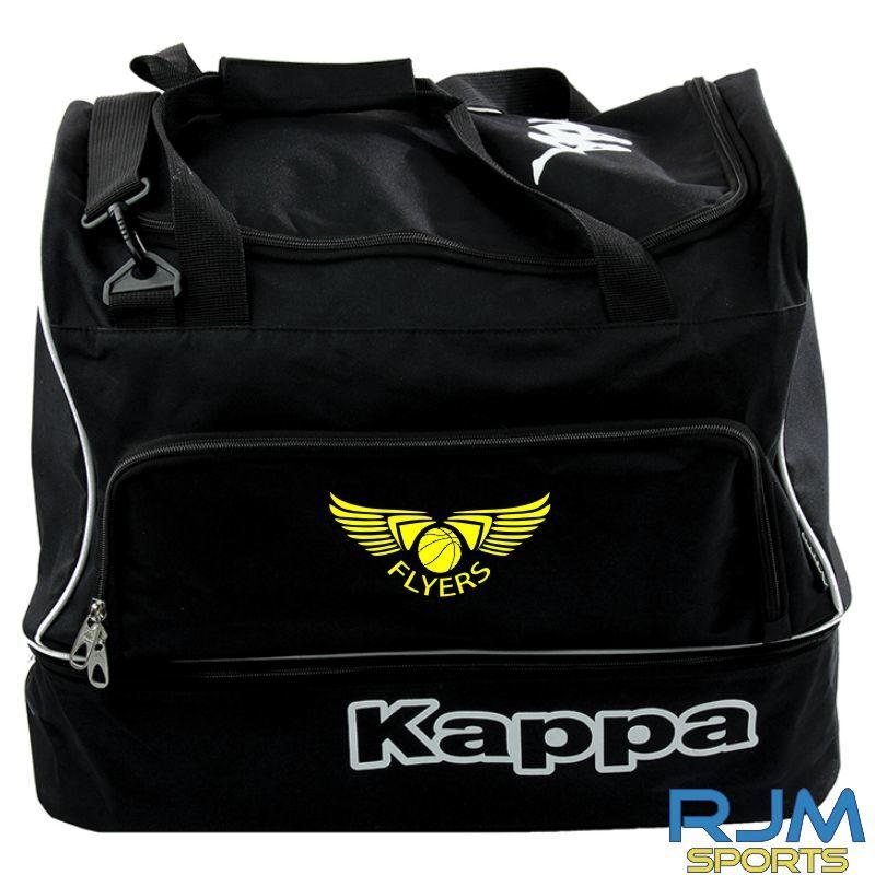 GF Kappa Moxio 60L Italian Bag Black