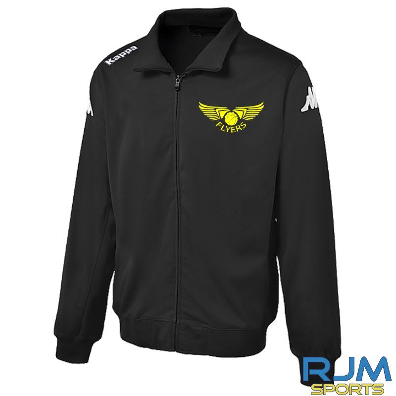 GF Kappa Torre Coaches Zipped Jacket Black