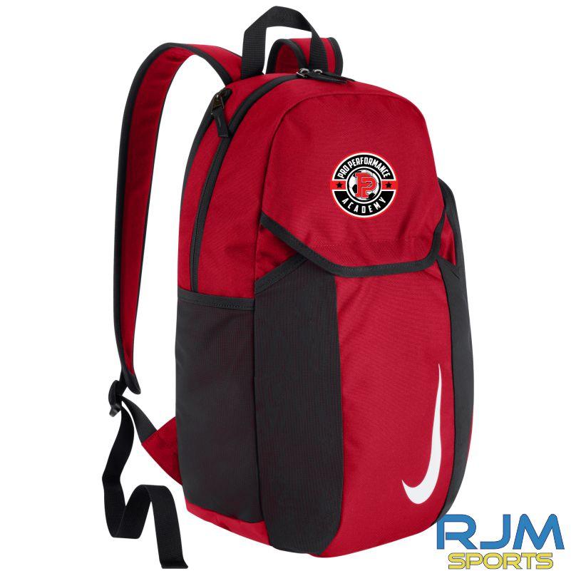 Pro Performance Academy Nike Bag Club Team Backpack University Red/Black/(White)