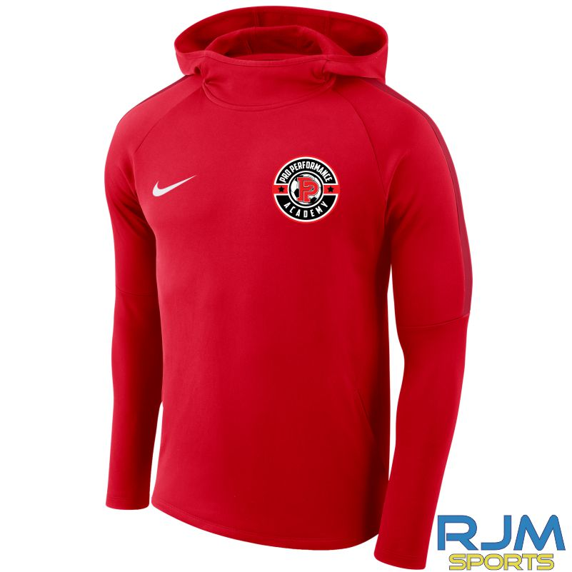Pro Performance Academy Nike Academy 18 Hoody University Red/Gym Red/(White)
