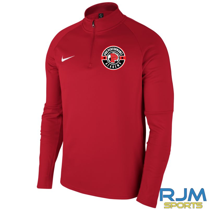 Pro Performance Nike Academy 18 Drill Top University Red/Gym Red/(White)