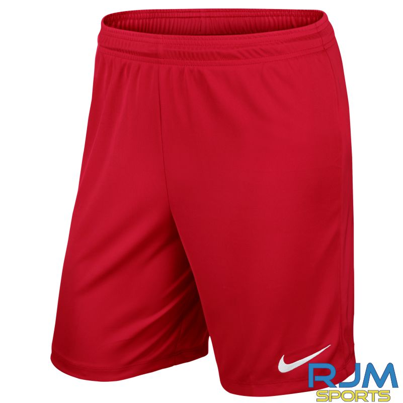 Pro Performance Academy Nike Park II Knit Short Without Brief University Red White