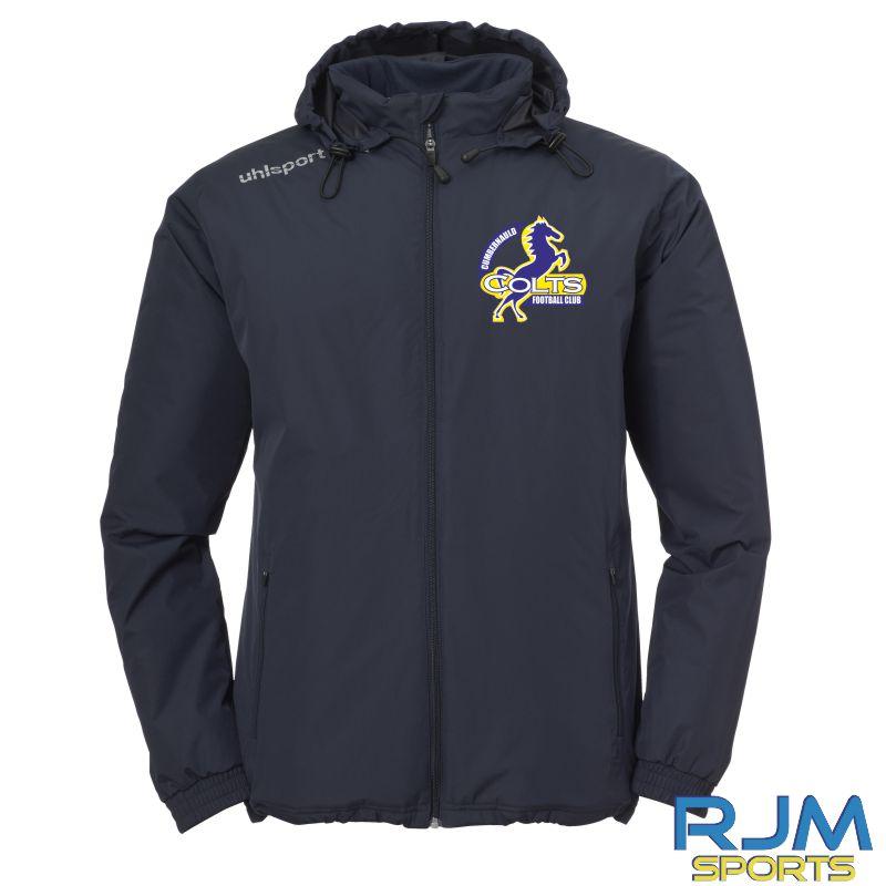 Cumbernauld Colts Uhlsport Essential Coach Jacket Navy