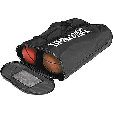 Spalding BallBag Soft For 6 Balls Black