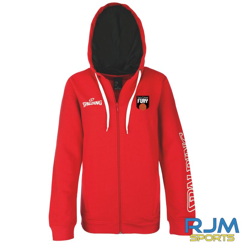 Falkirk Fury Team II Jacket 4Her Red