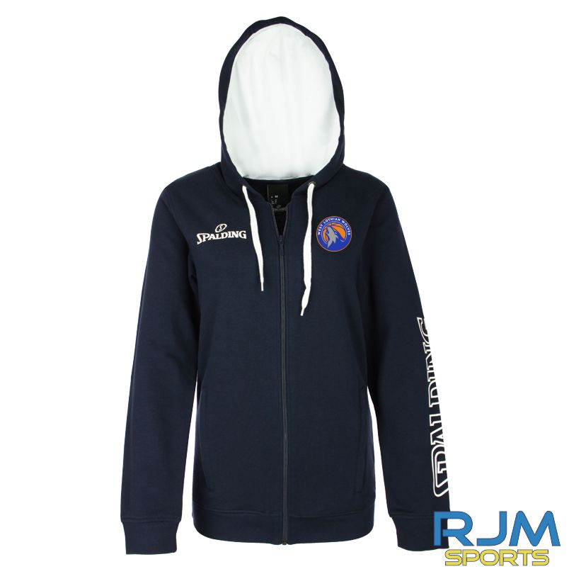 WLW Spalding Team II Jacket 4Her Navy