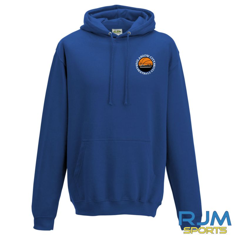 Glasgow City Basketball AWDis College Hoodie Royal Blue