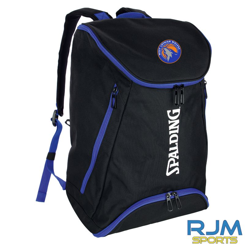 WLW Spalding Backpack Black Royal