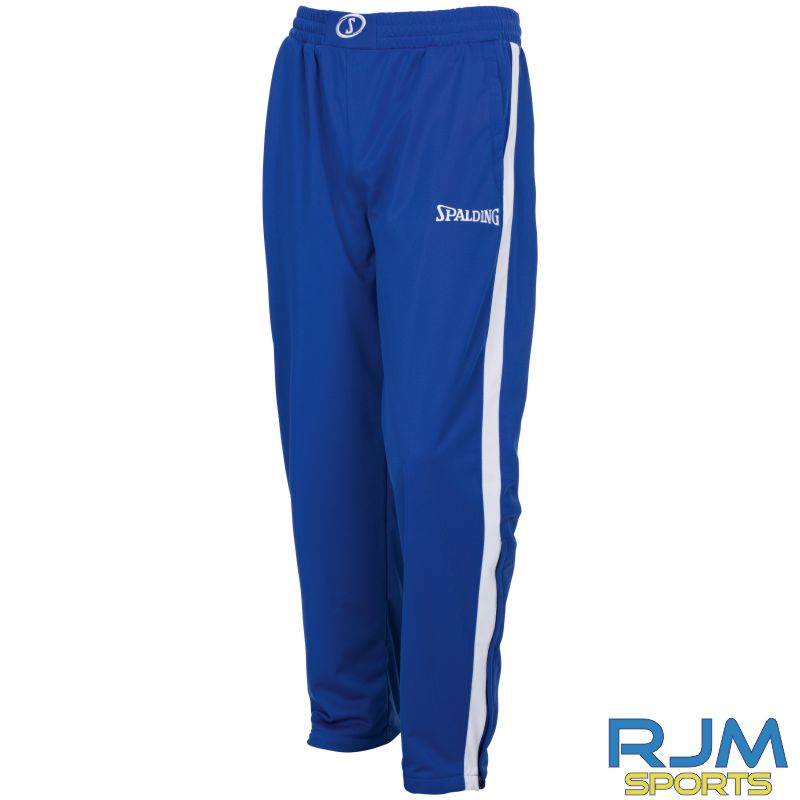 Glasgow City Basketball Spalding Evolution II Classic Pants Royal White