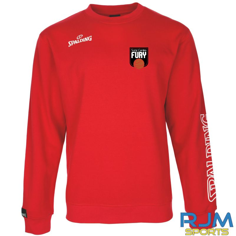 Falkirk Fury Team II Crewneck Red