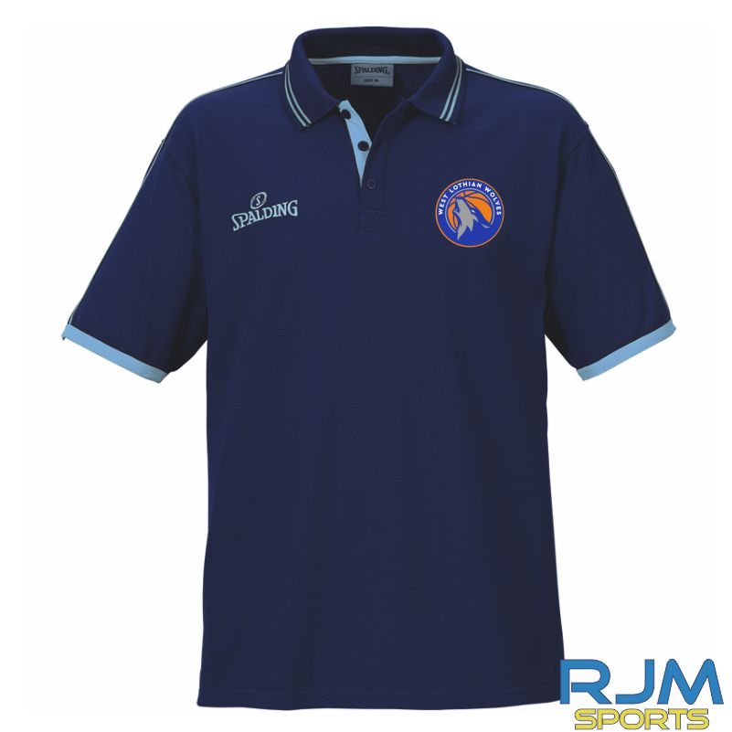 WLW Polo Shirt Navy Sky Blue