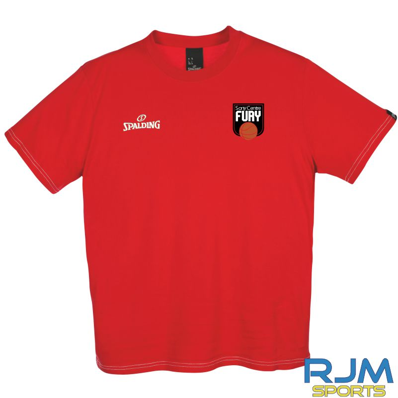 Falkirk Fury Team II T-Shirt Red
