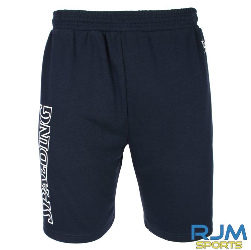 WLW Spalding Team II Shorts Navy