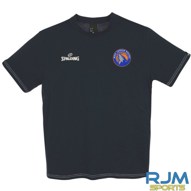 WLW Spalding Team II T-Shirt Navy