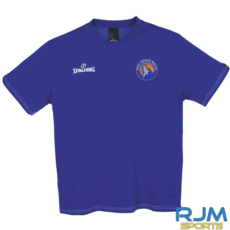 WLW Spalding Team II T-Shirt Royal