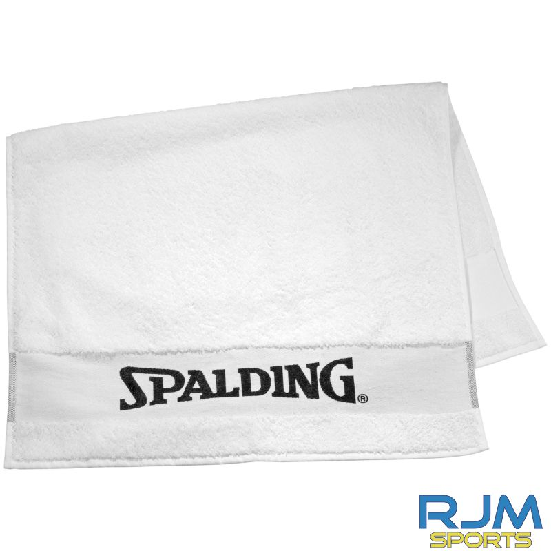 Glasgow City Basketball Spalding Bench Towel White