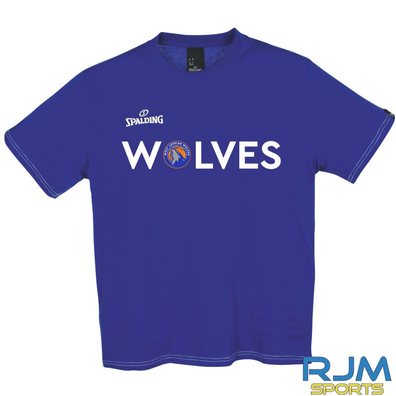 WLW Special Edition WOLVES Spalding Team II T-Shirt Royal