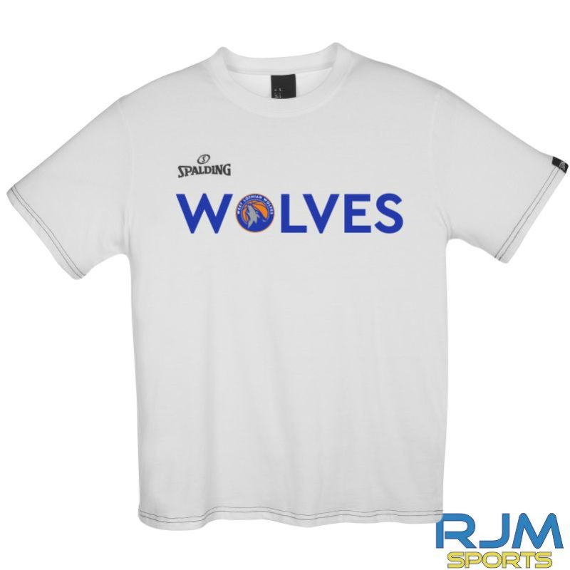 WLW Special Edition WOLVES Spalding Team II T-Shirt White