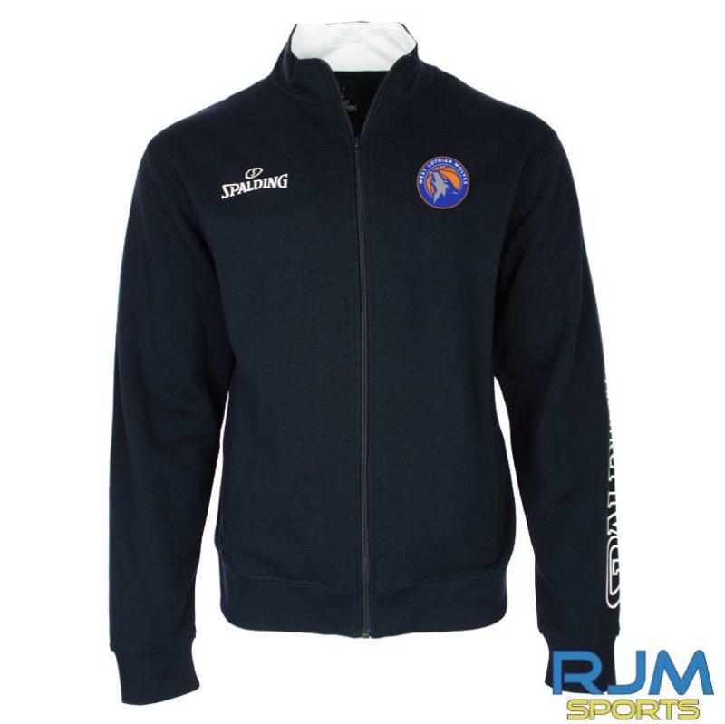 WLW Spalding Team II Zipper Jacket Navy