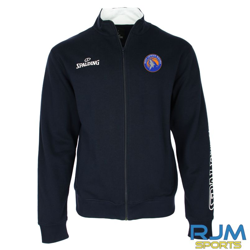 WLW Spalding Team II Zipper Jacket Navy