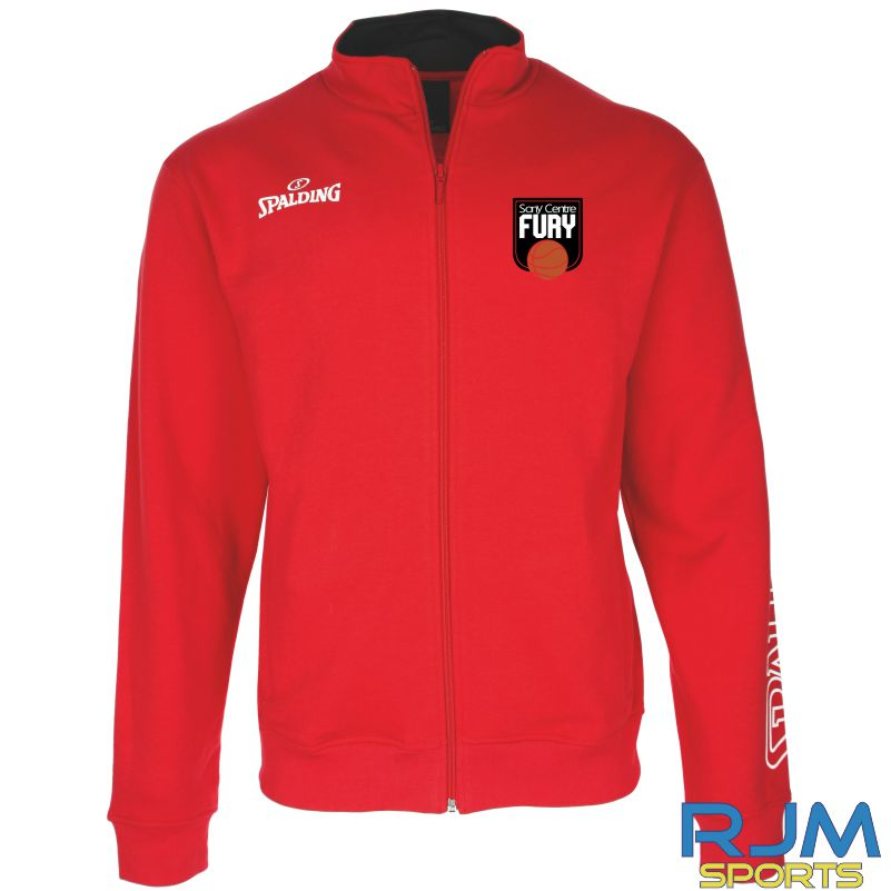 Falkirk Fury Team II Zipper Jacket Red