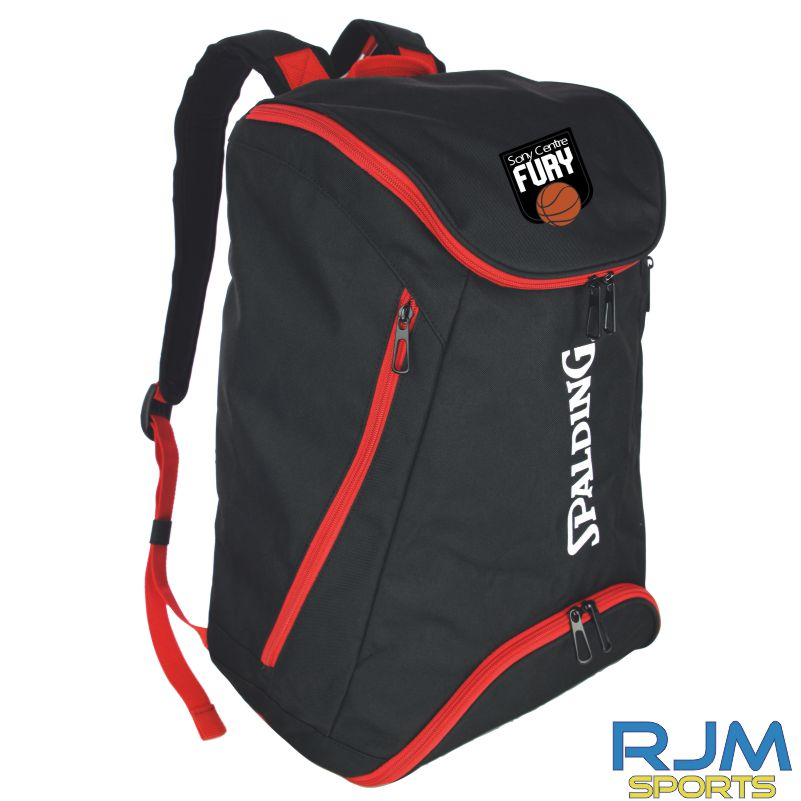 Falkirk Fury Backpack Black Red