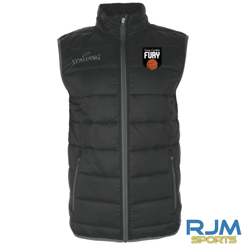 Falkirk Fury Padded Vest Black