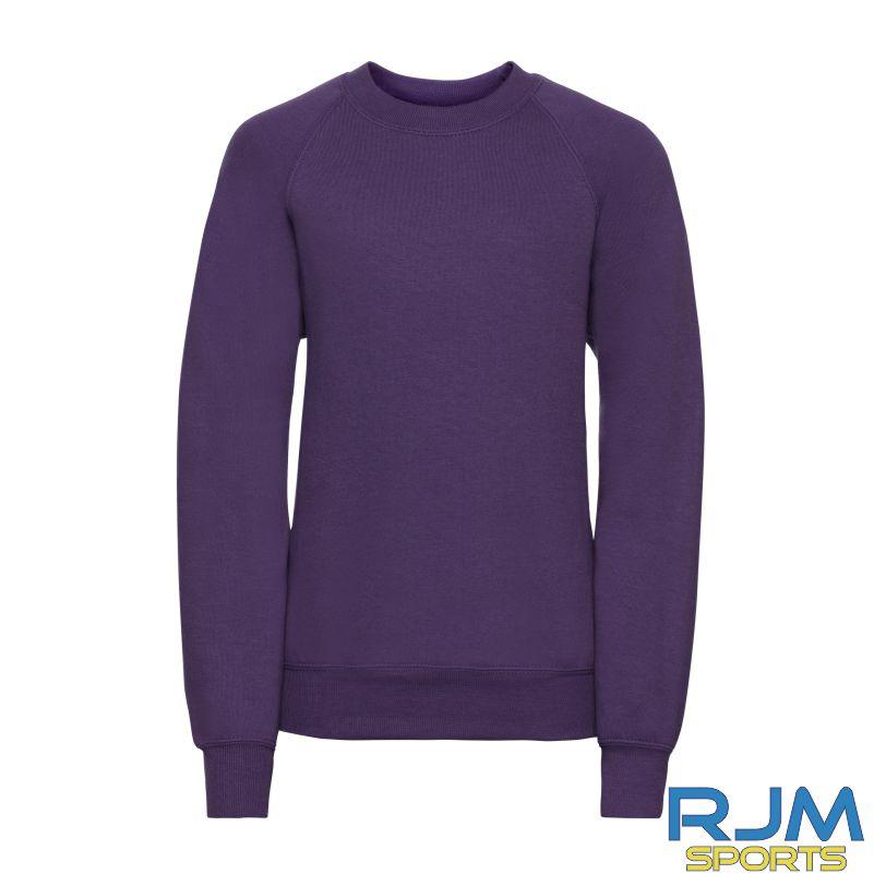 Nethermains Primary School Nursery Russell Kids Sweatshirt Purple