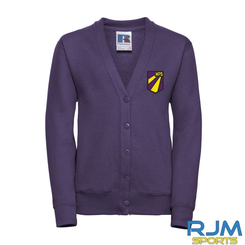 Nethermains Primary School Russell Kids Cardigan Purple