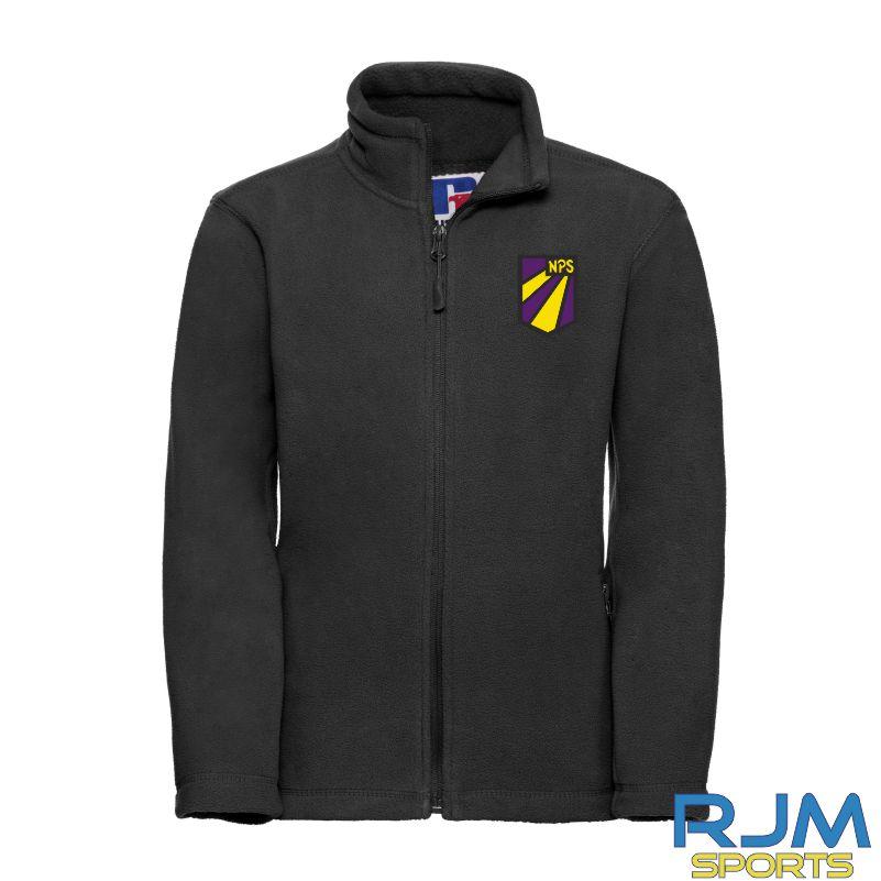 Nethermains Primary School Russell Kids Outdoor Fleece Jacket Black