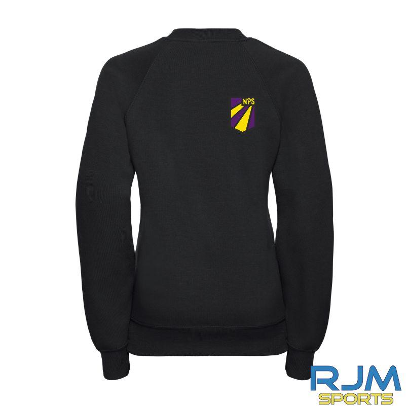 Nethermains Primary School Russell Kids P7 Sweatshirt Black