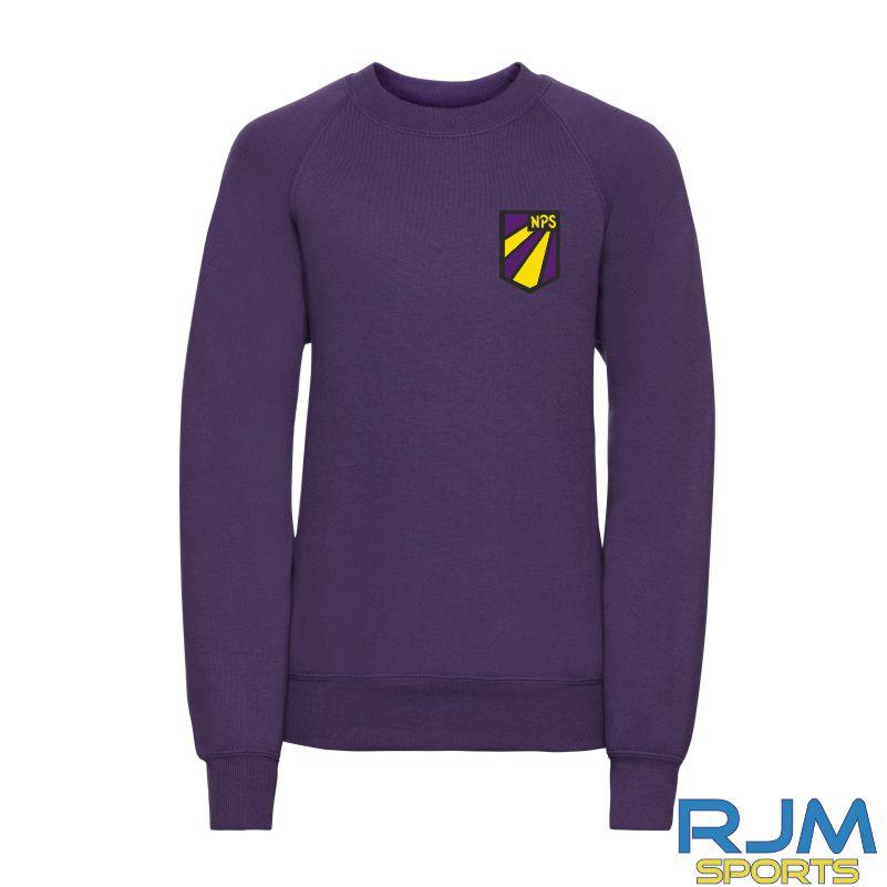 Nethermains Primary School Russell Kids Sweatshirt Purple