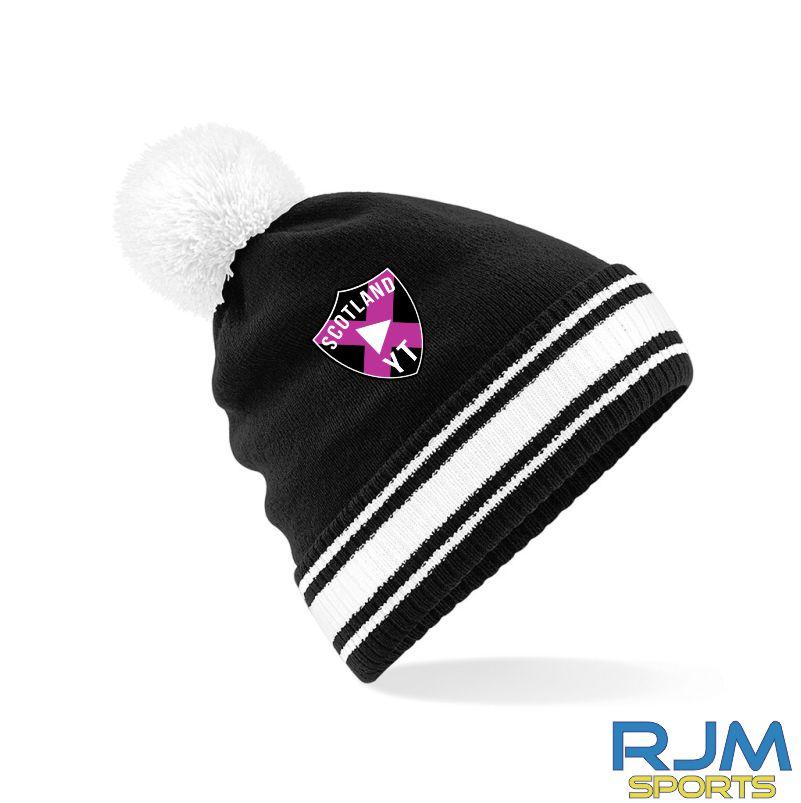 Scottish Youtubers Bobble Hat Black White